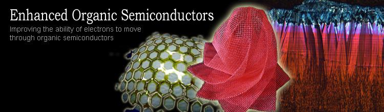 Enhanced Organic Semiconductors