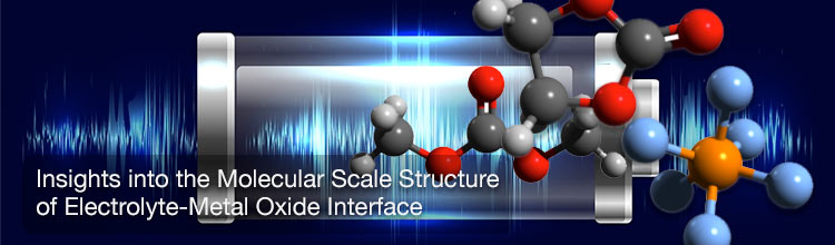 Insights into the Molecular Scale Structure of Electrolyte-Metal Oxide Interface