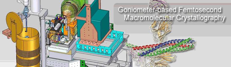 Goniometer-based Femtosecond Macromolecular Crystallography