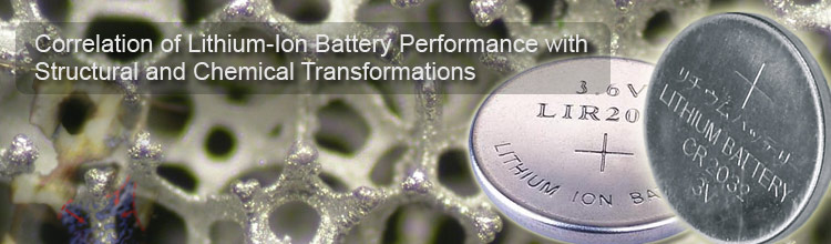 Correlation of Lithium-Ion Battery Performance with Structural and Chemical Transformations