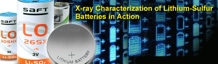 X-ray Characterization of Lithium-Sulfur Batteries in Action