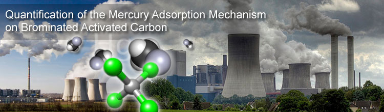 Quantification of the Mercury Adsorption Mechanism on Brominated Activated Carbon