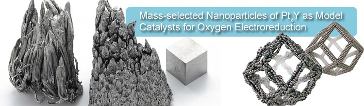 Mass-selected Nanoparticles of PtxY as Model Catalysts for Oxygen Electroreduction