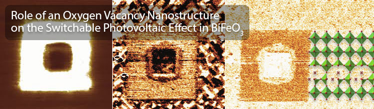 Role of an Oxygen Vacancy Nanostructure
