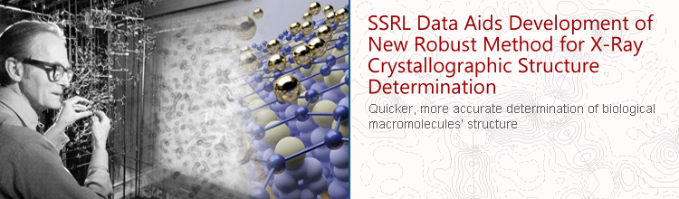SSRL Data Aids in the Development of a New Robust Method for X-Ray Crystallographic Structure Determination