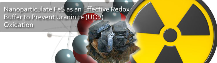 Nanoparticulate FeS as an Effective Redox Buffer to Prevent Uraninite (UO2) Oxidation