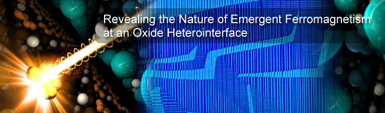 Revealing the Nature of Emergent Ferromagnetism at an Oxide Heterointerface