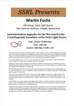 Instrumentation upgrades for the Macromolecular Crystallography beamlines of the Swiss Light Source