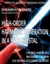 High-order Harmonic Generation in a Bulk Crystal