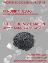 Introducing: Carbon – Always Good for a Surprise!