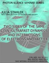 Two sides of the same coin: Ultrafast dynamics and interactions of electrons and lattice