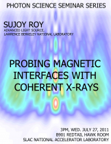 Probing Magnetic Interfaces with Coherent X-rays
