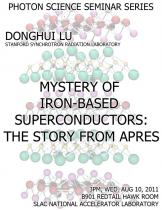 Mystery of Iron-based Superconductors: the Story from APRES