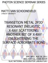 Transition metal 2p3d resonant inelastic X-ray scattering: another bit of X-ray enlightening of the surface-adsorbate bond