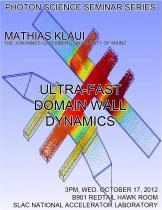 Ultra-fast domain wall dynamics