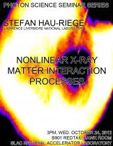 Nonlinear X-ray Matter Interaction Processes
