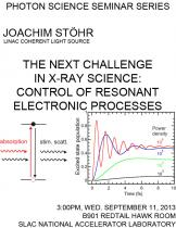 The Next Challenge in X-Ray Science: Control of Resonant Electronic Processes