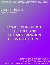 Frontiers in optical control and characterization of living systems