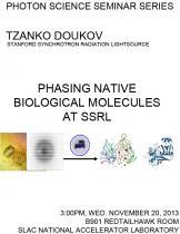 Phasing Native Biological Molecules at SSRL