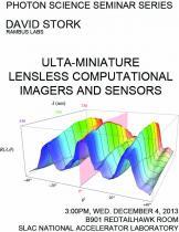 Ultra-miniature lensless computational imagers and sensors