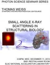 Small Angle X-ray Scattering in Structural Biology