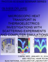 Microscopic Heat Transport in Thermoelectrics: Investigations with Scattering Experiments and Computer Simulations