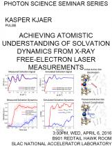 Achieving atomistic understanding of solvation dynamics from X-ray free-electron laser measurements