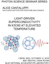 Light-driven superconductivity in K3C60 at elevated temperature