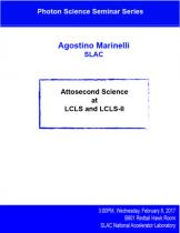 Attosecond science at LCLS and LCLS-II