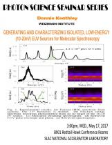 Generating and Characterizing Isolated, Low-Energy (10-20 eV) EUV Sources for Molecular Spectroscopy
