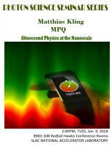 Attosecond physics at the nanoscale