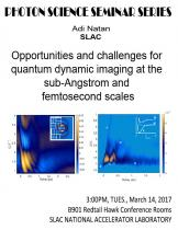 Opportunities and challenges for quantum dynamic imaging at the sub-Angstrom and femtosecond scales