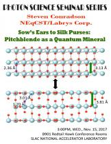 Sow's Ears to Silk Purses: Pitchblende as a Quantum Mineral