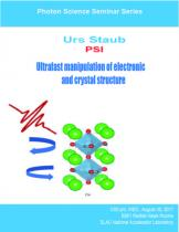 Ultrafast manipulation of electronic and crystal structure