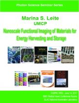 Nanoscale Functional Imaging of Materials for Energy Harvesting and Storage
