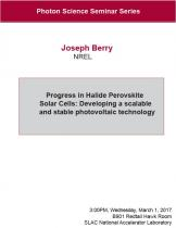 Progress in Halide Perovskite Solar Cells: Developing a scalable and stable photovoltaic technology
