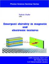 Emergent chirality in magnetic and electronic textures