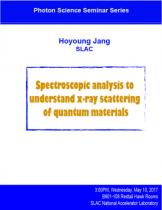 Spectroscopic analysis to understand x-ray scattering of quantum materials