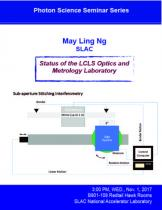 Status of the LCLS Optics and Metrology Laboratory