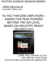 Yb:YAG thin disk amplifiers - aiming for peak powers beyond the GW level based on industry ready technology