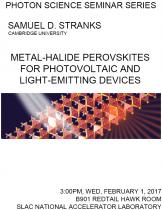 Metal-halide perovskites for photovoltaic and light-emitting devices