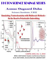 Simulating Femtochemistry with Multiscale Methods – On the Road to Polarizable Embedding