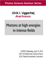 Photons at high energies in intense fields