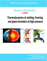 Thermodynamics of melting, freezing, and glass formation at high pressure