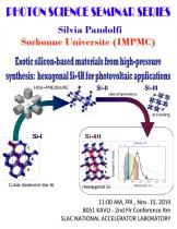 Exotic silicon-based materials from high-pressure synthesis: hexagonal Si-4H for photovoltaic applications