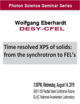 Time resolved XPS of solids: from the synchrotron to FEL's