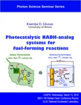 Photocatalytic NADH-analog systems for fuel-forming reactions