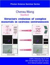 Structure evolution of complex materials in extreme environments