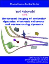 Attosecond imaging of molecular dynamics: electronic coherence and curve-crossing dynamics