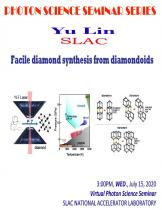 Facile Diamond Synthesis From Diamondoids